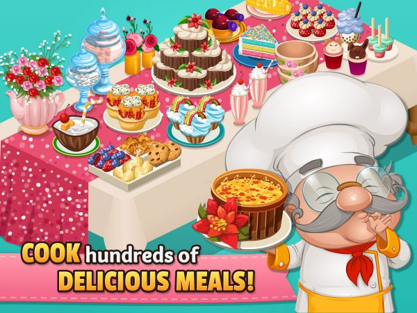 COOK hundreds of DELICIOUS MEALS!